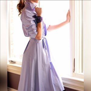 Diane Von Furstenberg Robin Lilac Wrap Dress